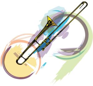 Saxophone drawing